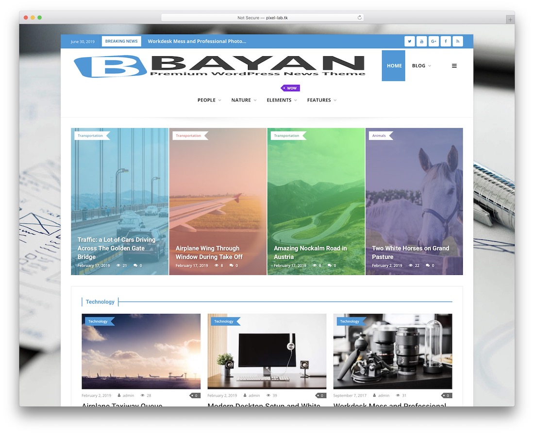bayan viral wordpress theme