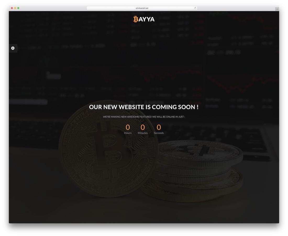 bayya coming soon template