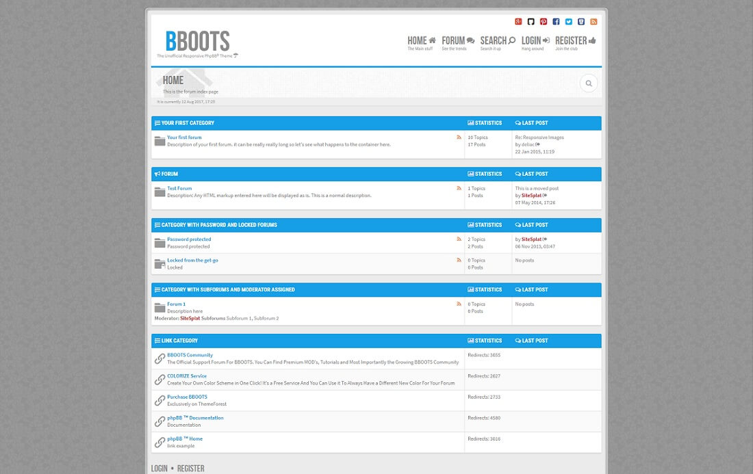 bboots gaming HTML website template