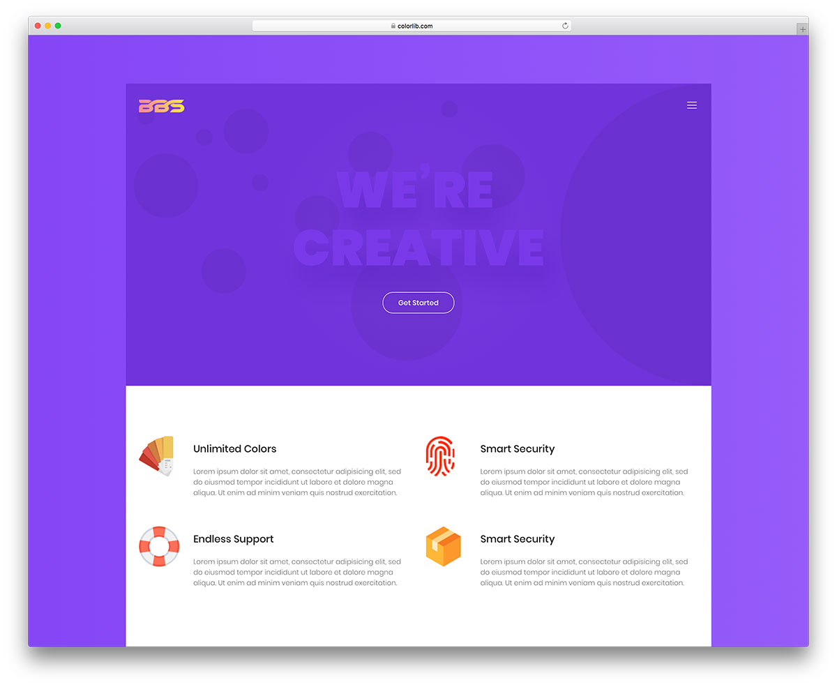 87 Free HTML Website Templates 2019 - Colorlib