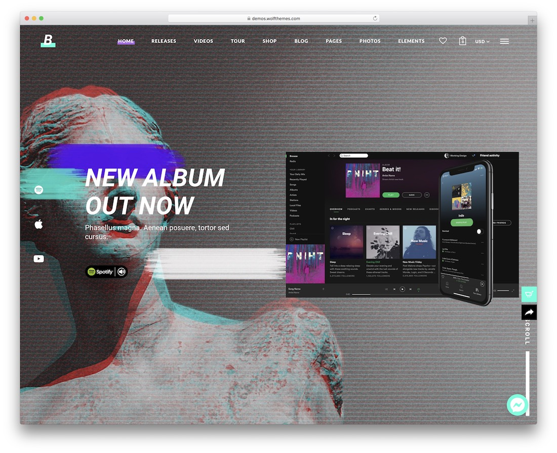 beatit wordpress nightclub theme