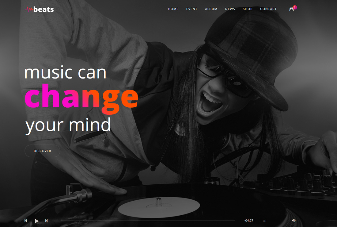 beats-bootstrap-music-templates