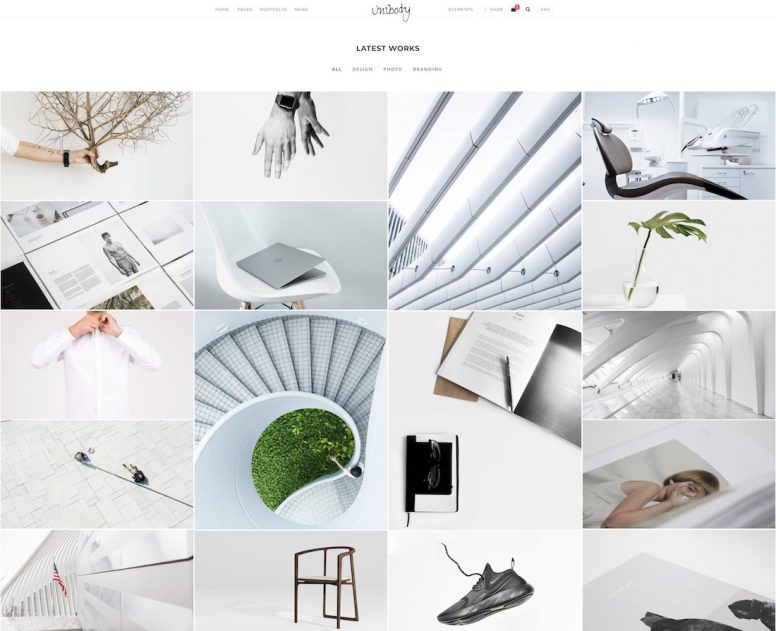20 Of The Most Beautiful Website Templates 2018