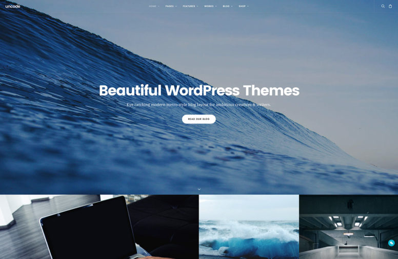 Top 20 Beautiful Multipurpose WordPress Themes For Photographers, Companies And Bloggers 2017