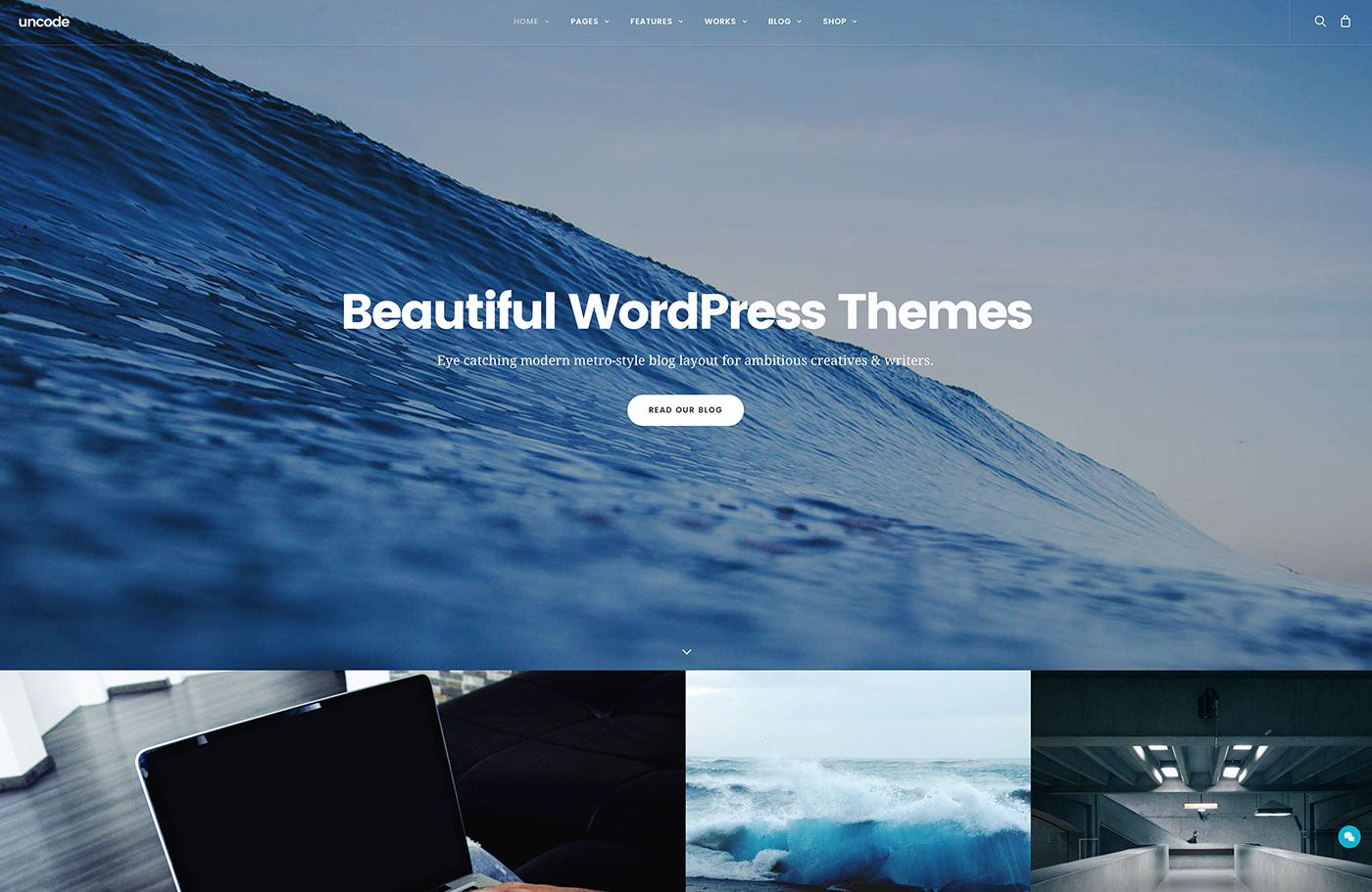 Top 43 Beautiful Multipurpose WordPress Themes For Photographers, Companies And Bloggers 2019