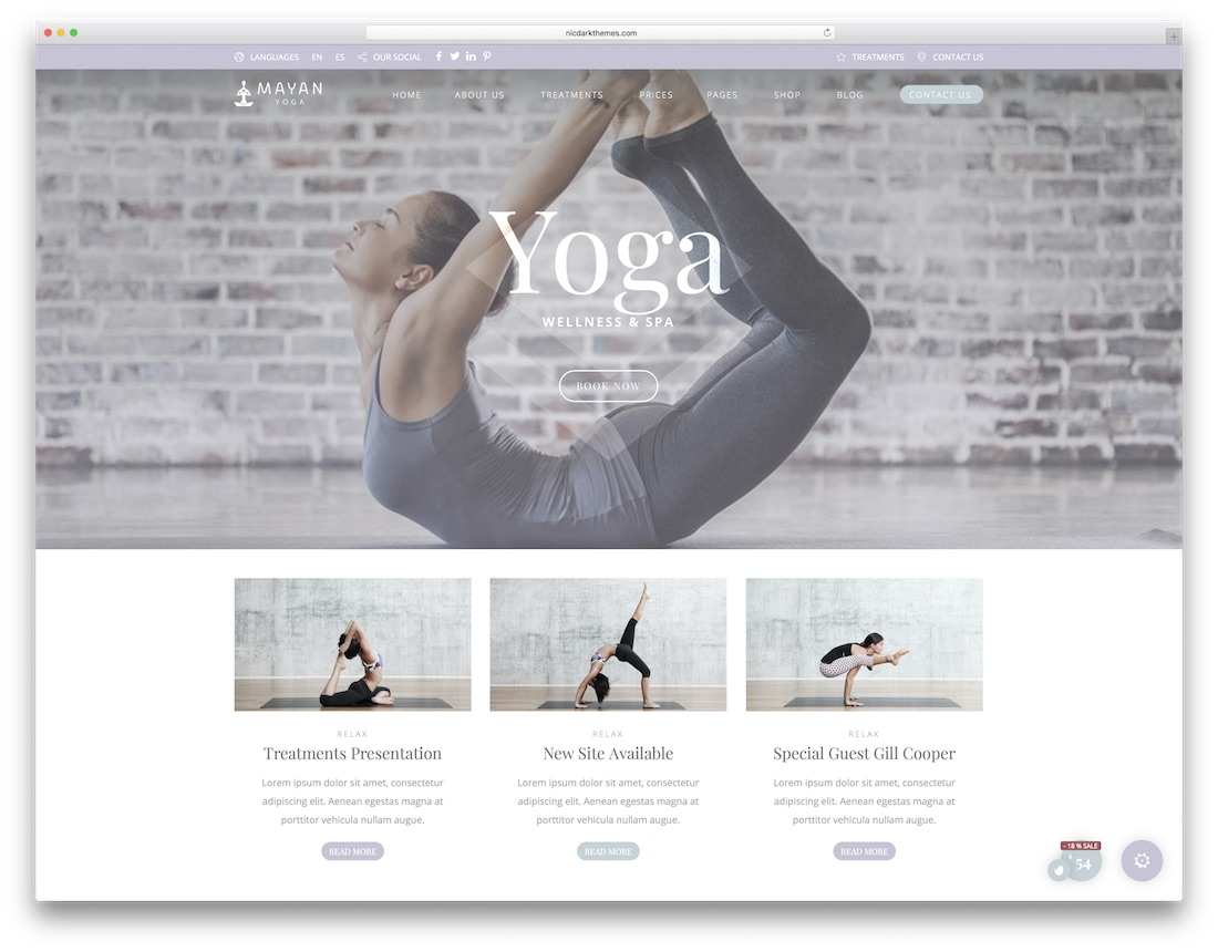 beauty pack physiotherapy chiropractor wordpress theme
