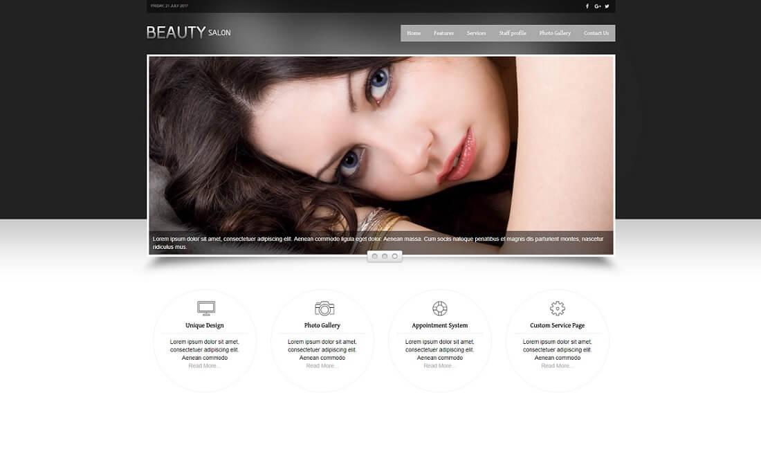 beauty salon ecwid compatible theme