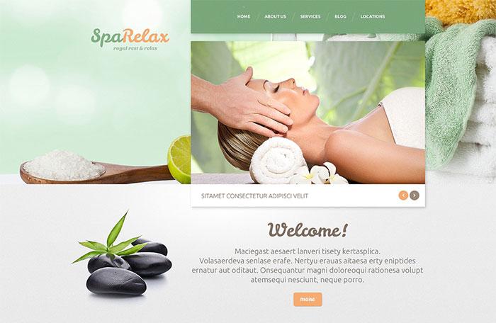 Spa salon WordPress Theme