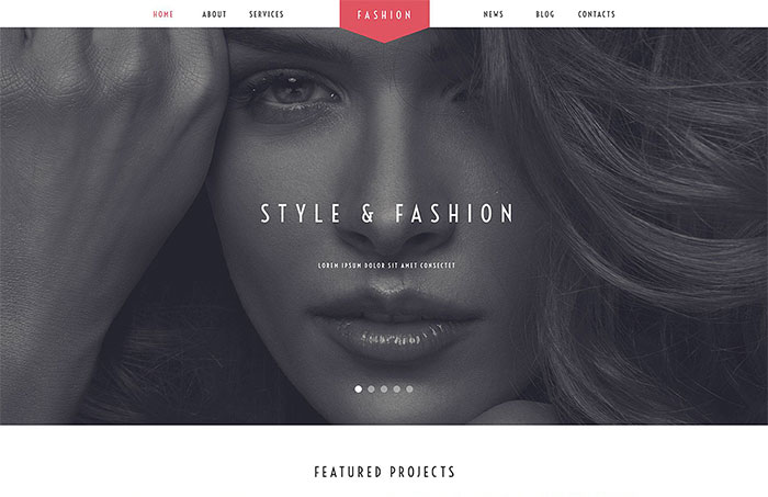Fashion Stylist WordPress Theme