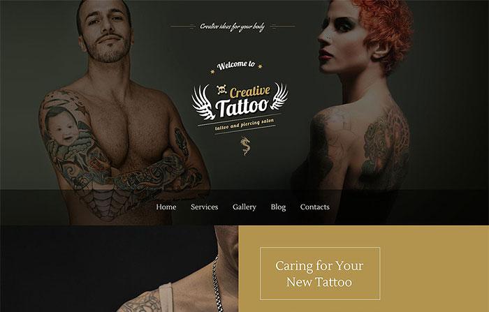 Tattoo WordPress Theme