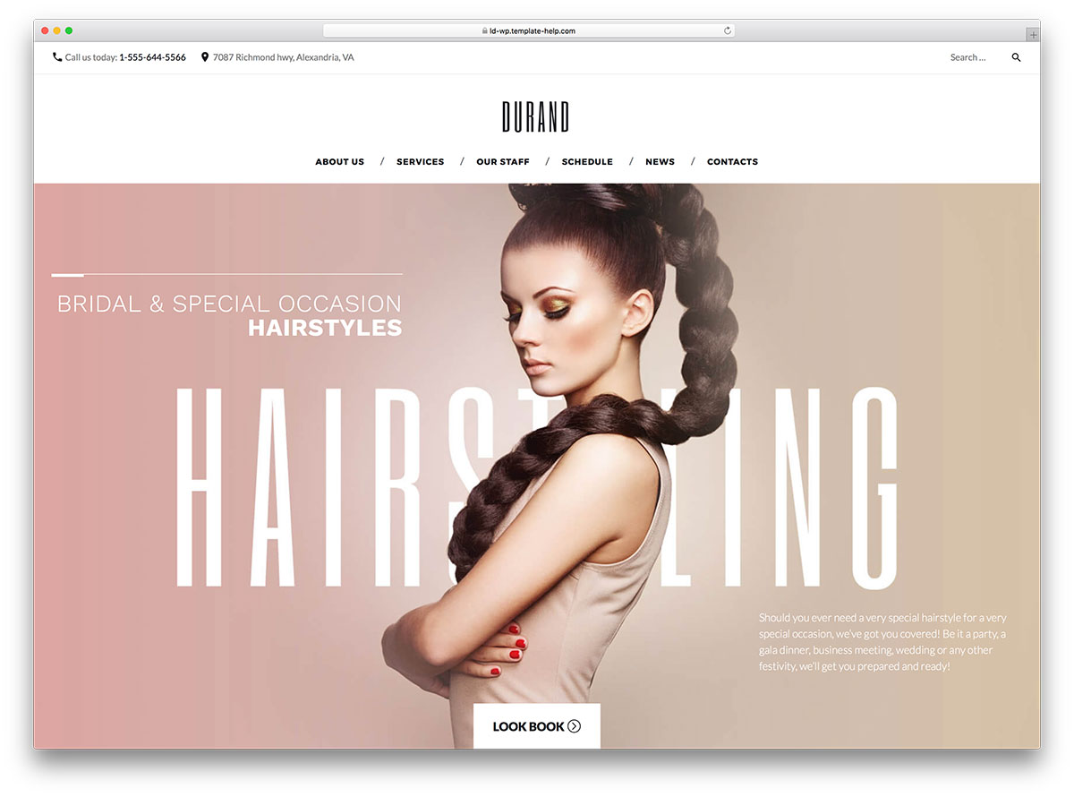 Top 20 Best Beauty Salon, Wellness, Healthcare Clinic And Tattoo Parlor WordPress Themes 2017