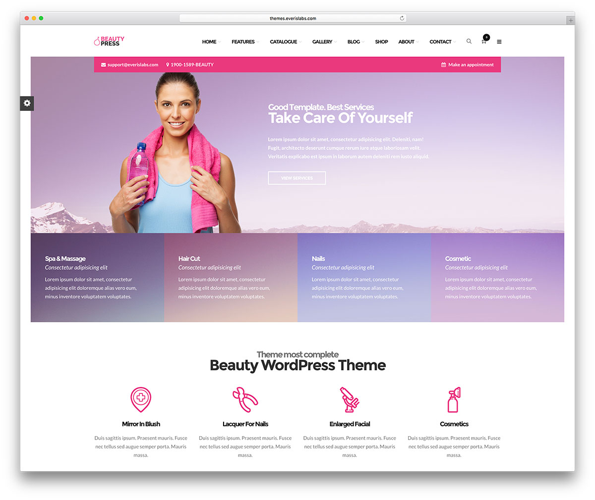 Top 15 Yoga WordPress Themes For Yoga Studios & Fitness Clubs 2017 ...
