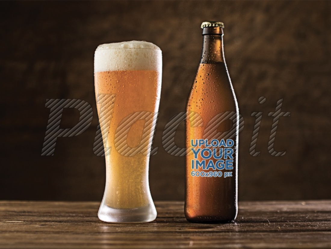 39 Awesome Beer Bottle Mockups For