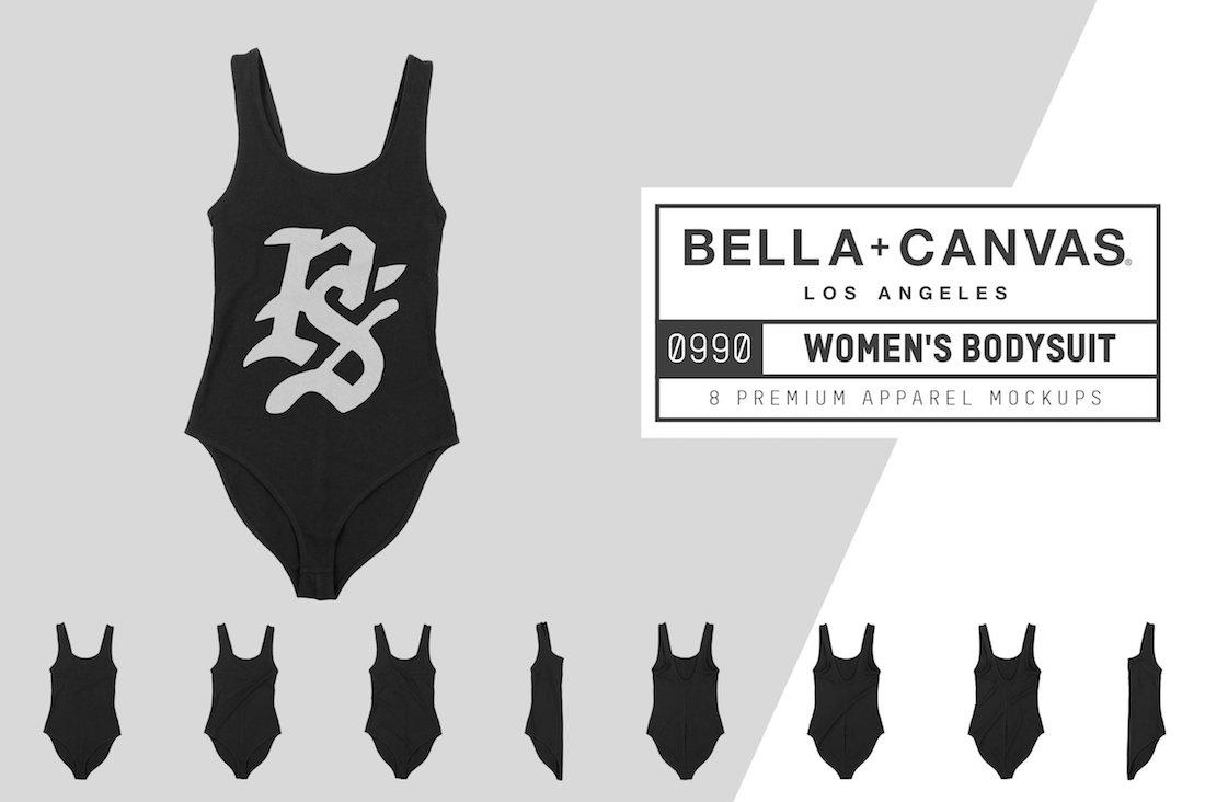 bella canvas 0990 womens bodysuit