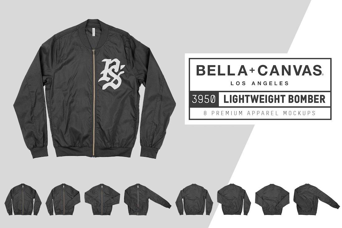 bella canvas 3950 lightweight bomber