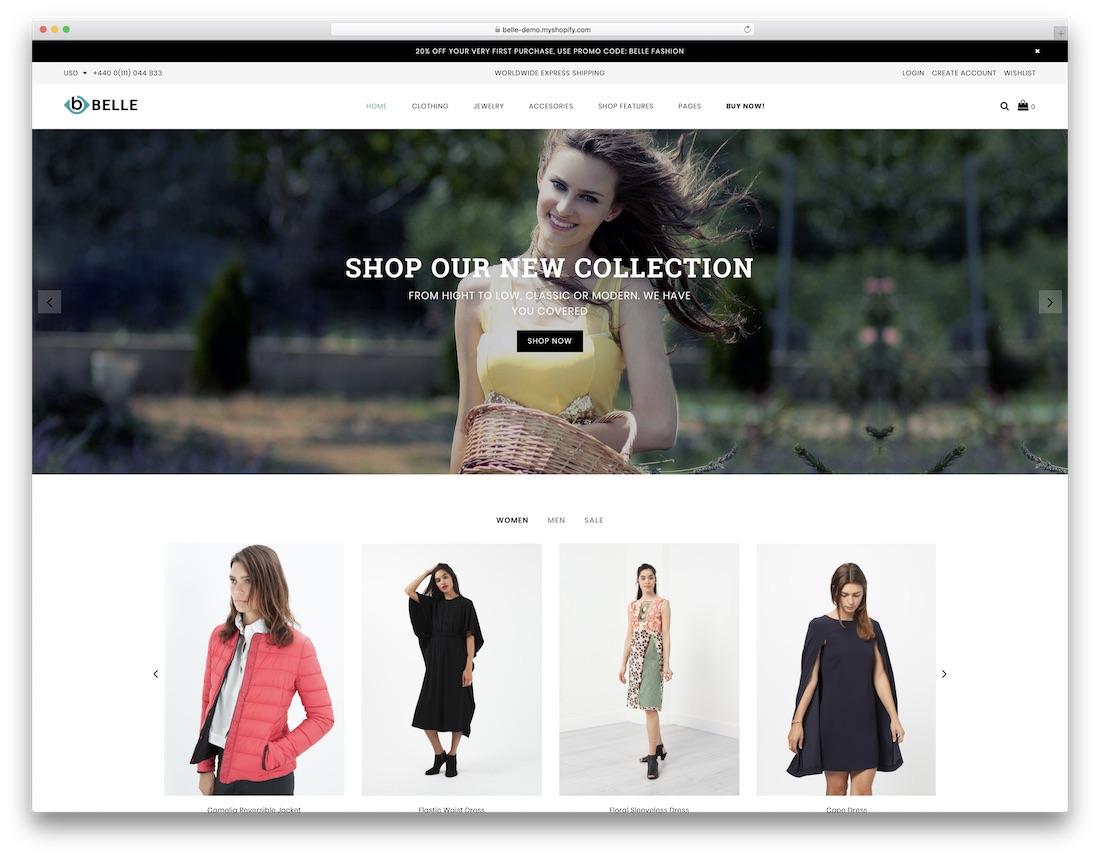 39 Top Trendy Clothing & Fashion Shopify Themes 2019 - Colorlib