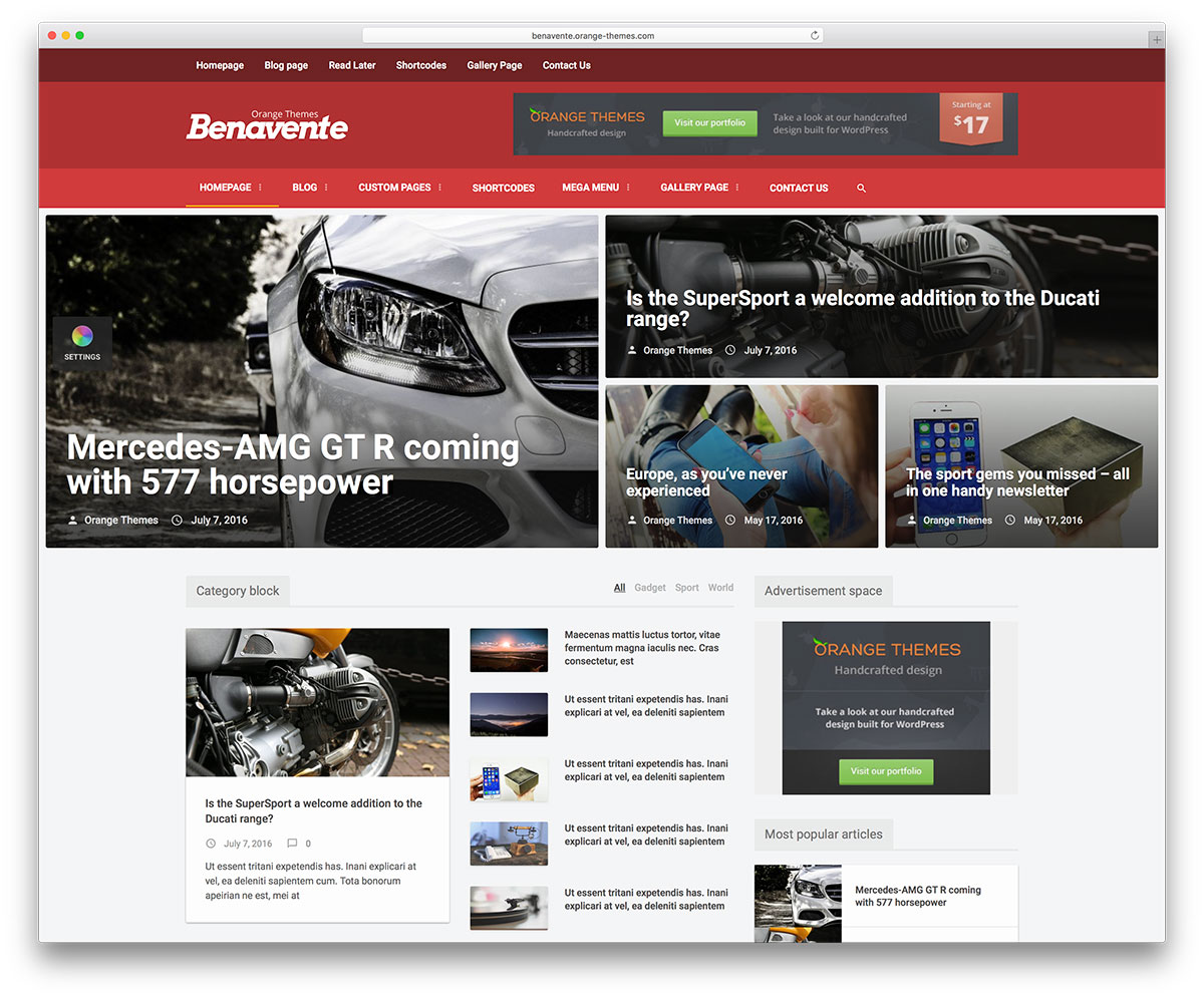 benavente-lifestyle-magazine-wordpress-theme