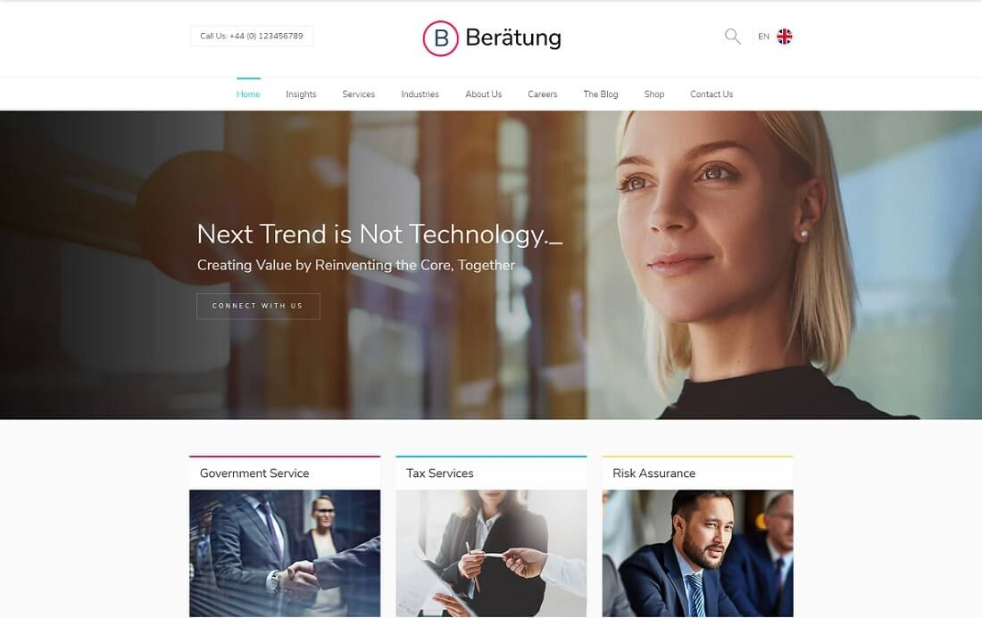 beratung cryptocurrency wordpress theme