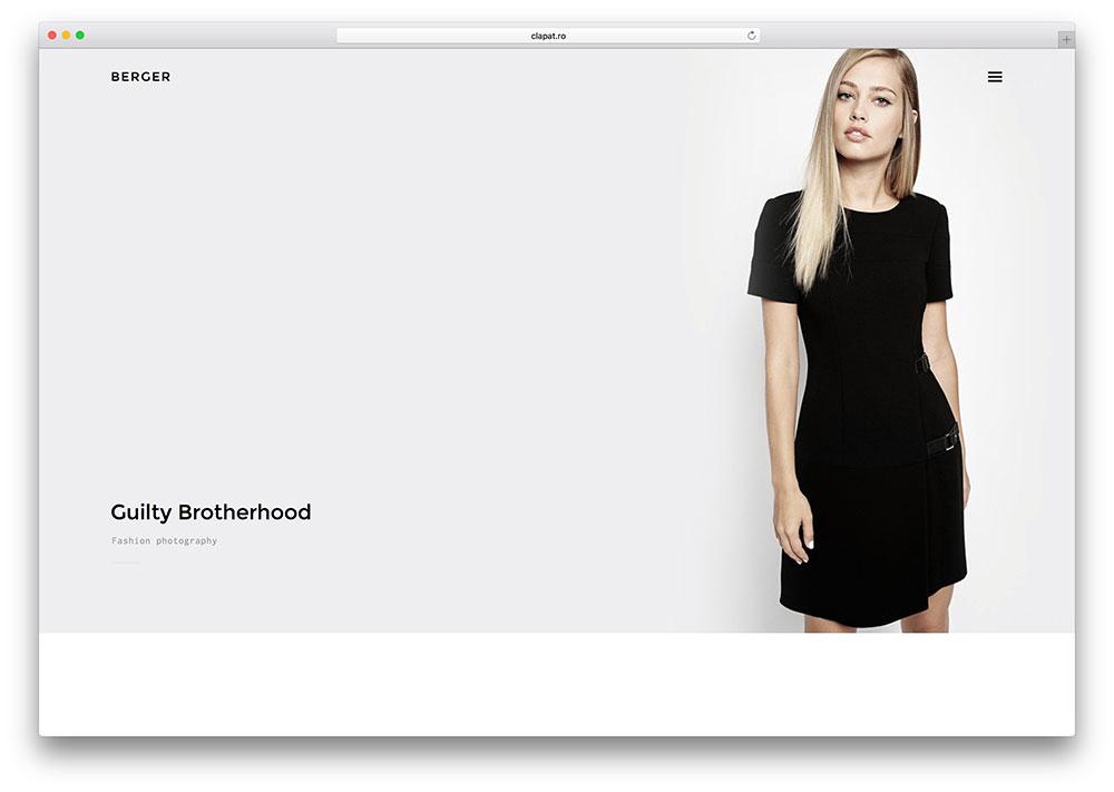 berger-fullscreen-fashion-photography-theme