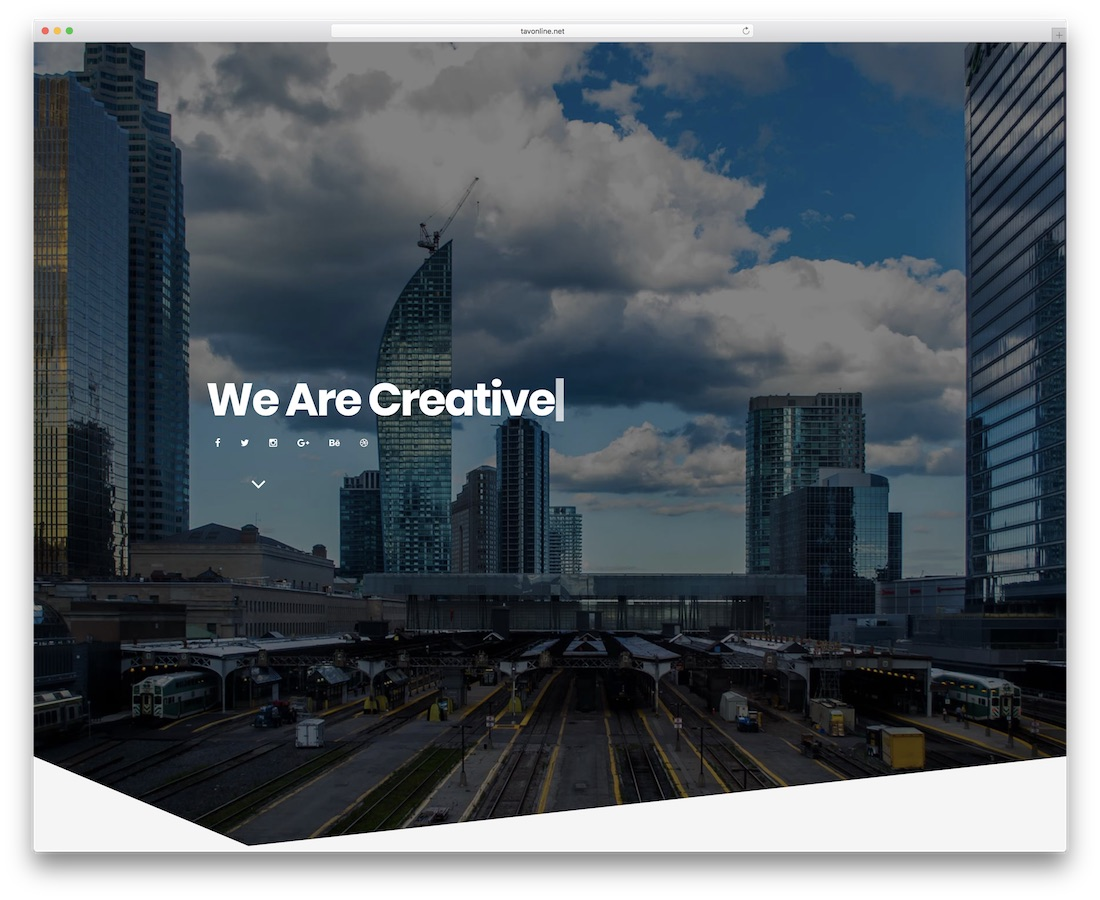 berlin creative website template