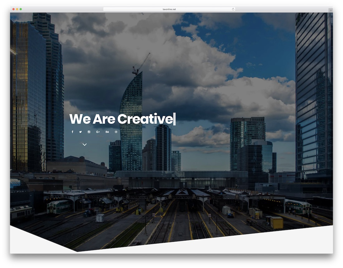 berlin designer website template
