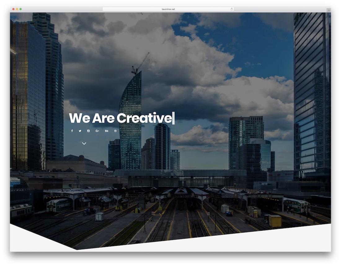 berlin freelancer website template
