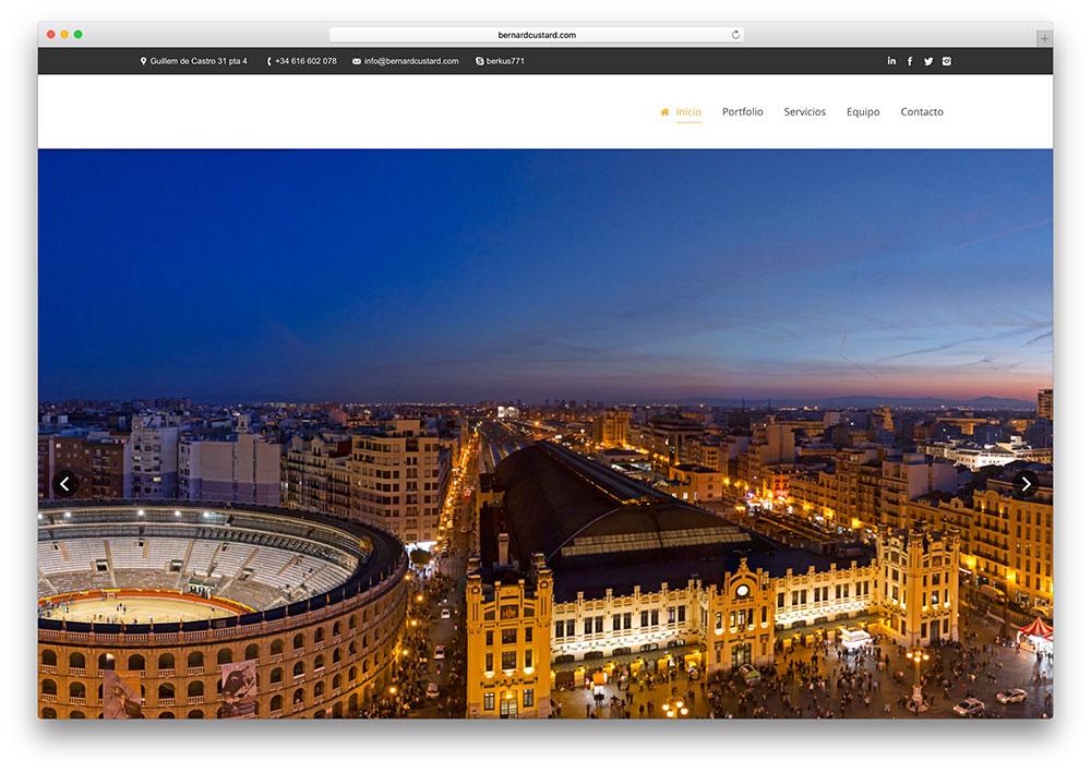 bernardcustard-small-business-site-using-the7-theme
