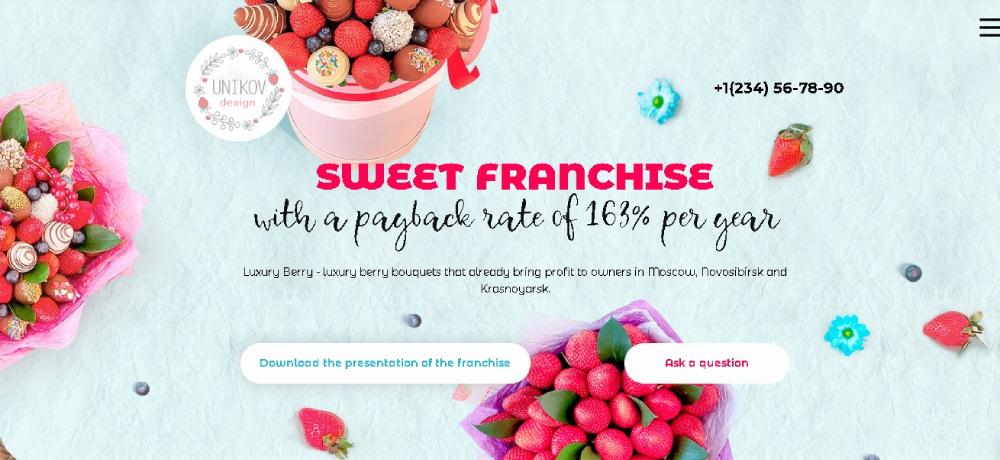 Berry website theme