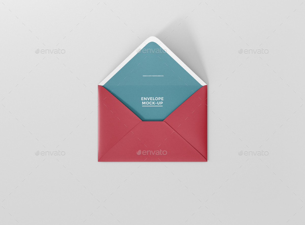 Top 25 Easy-to-use Envelope Mockups That All Designers Simply Love