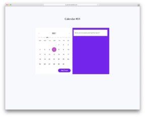 Bootstrap Calendars