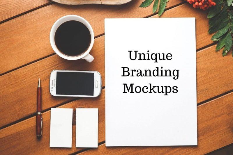 20 Unique Branding Mockups Collection 2020