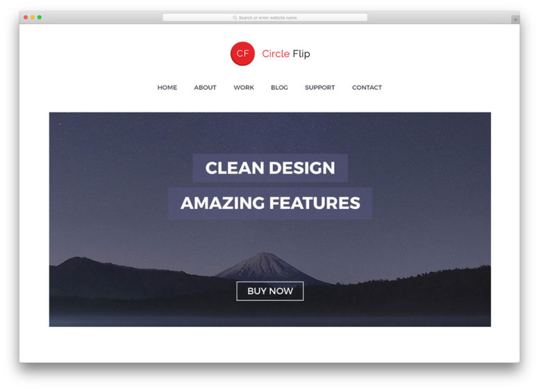 40 Best Clean & Minimal WordPress Themes For Agency, Portfolio, Blog And Corporate Websites 2017