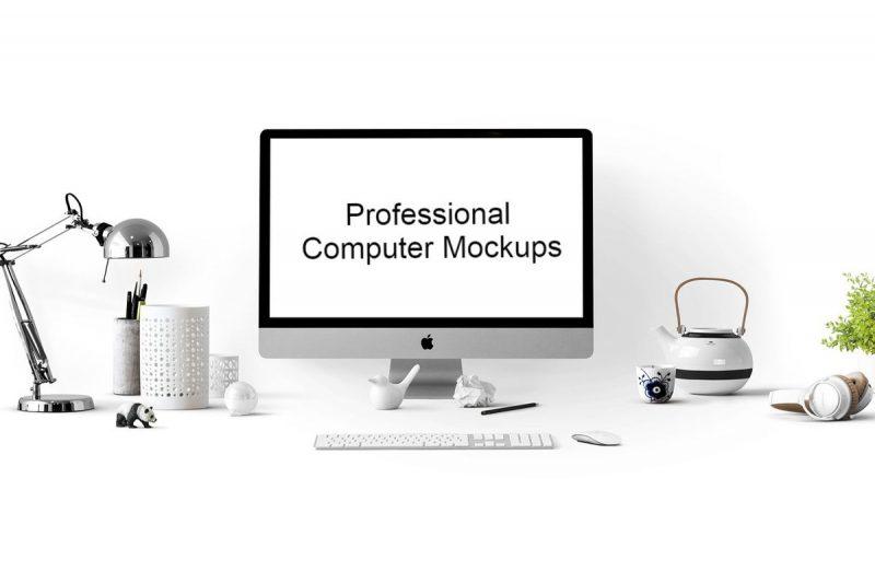 Top 23 Computer Mockups For Designers