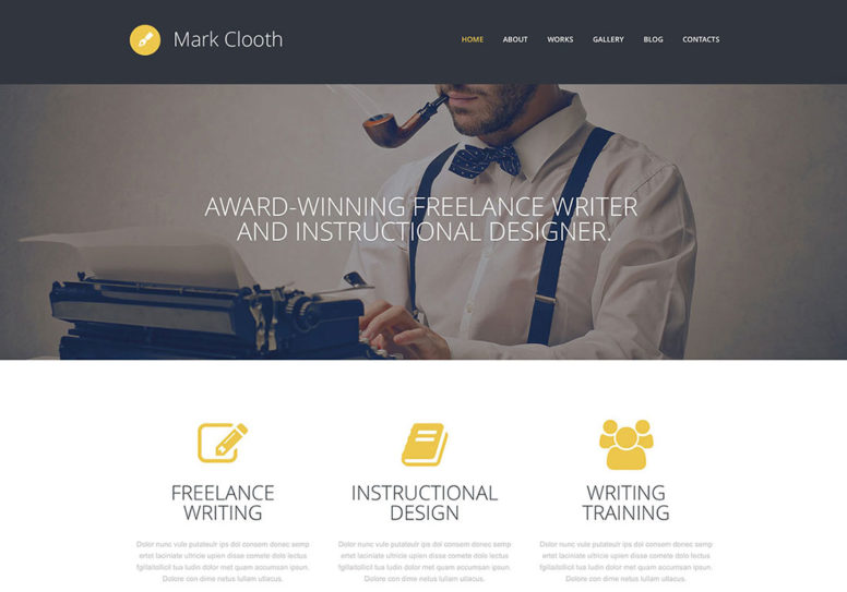50 Flat WordPress Themes In Bright And Juicy Colors 2014
