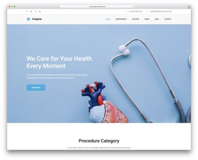 Best Free Medical Website Templates