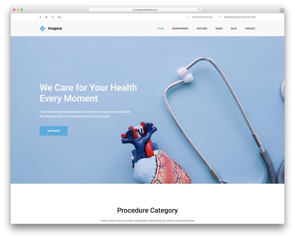 Best Free Medical Website Templates