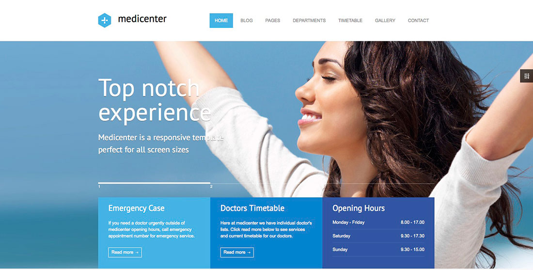 blog home 20 best health and medical wordpress themes for hospitals