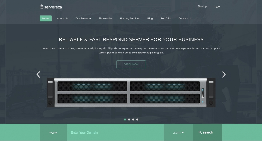 20+ Best Hosting WordPress Themes With Full WHMCS Manager Integration 2014