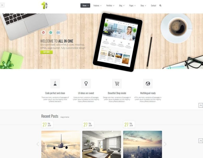15 Best & Most Compelling Joomla Business Templates 2017