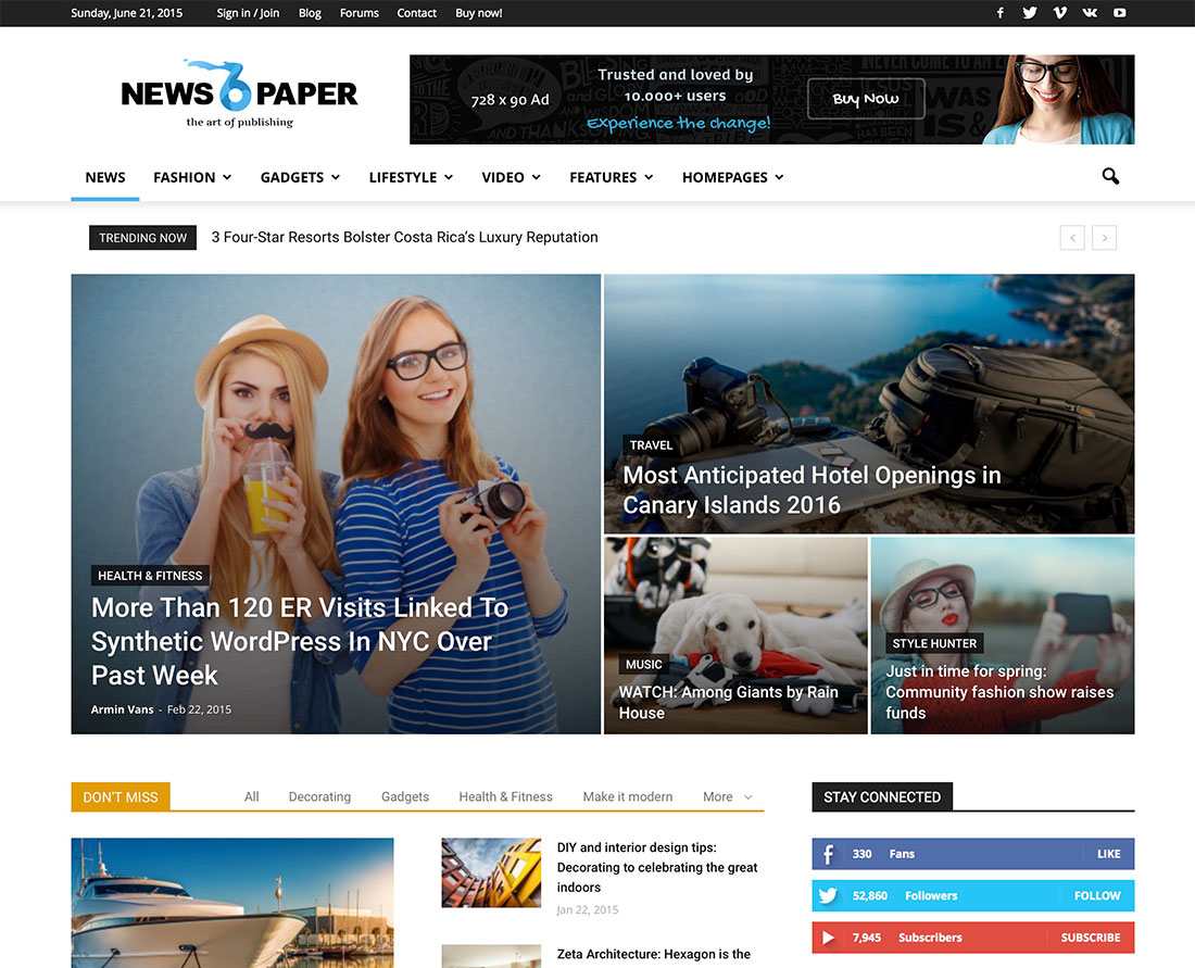 Probably The Best WordPress Themes