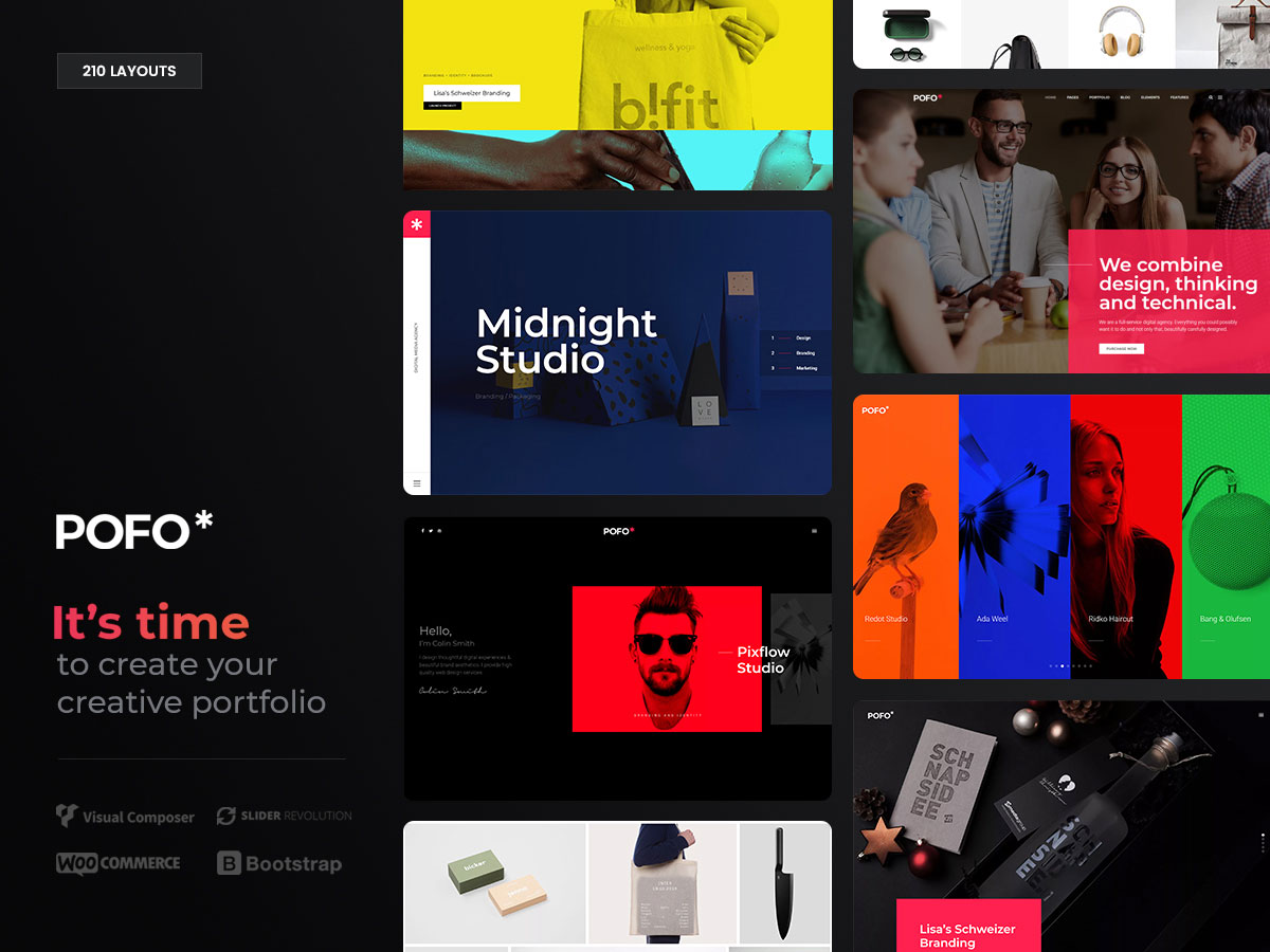 50+ Best Personal Portfolio WordPress Themes 2019 - Colorlib