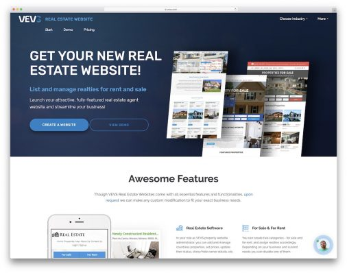 Best Real Estate Website Builders