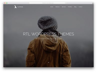Rtl Wordpress Themes