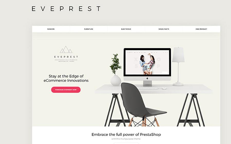 PrestaShop Multipurpose Responsive Theme