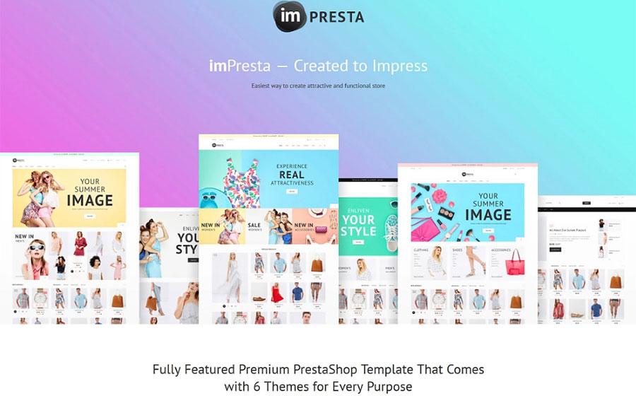 imPresta - Multipurpose PrestaShop Theme