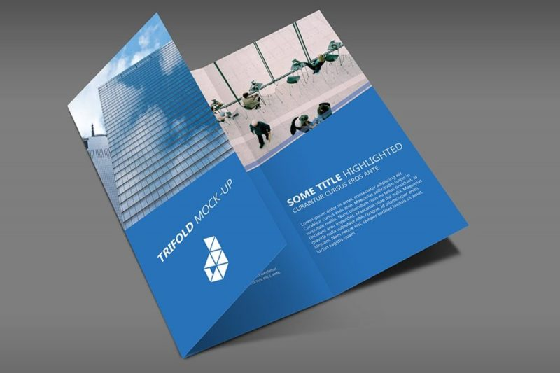 25 Best Trifold Brochure PSD Mockups Available With Easy-to-Customize Layouts