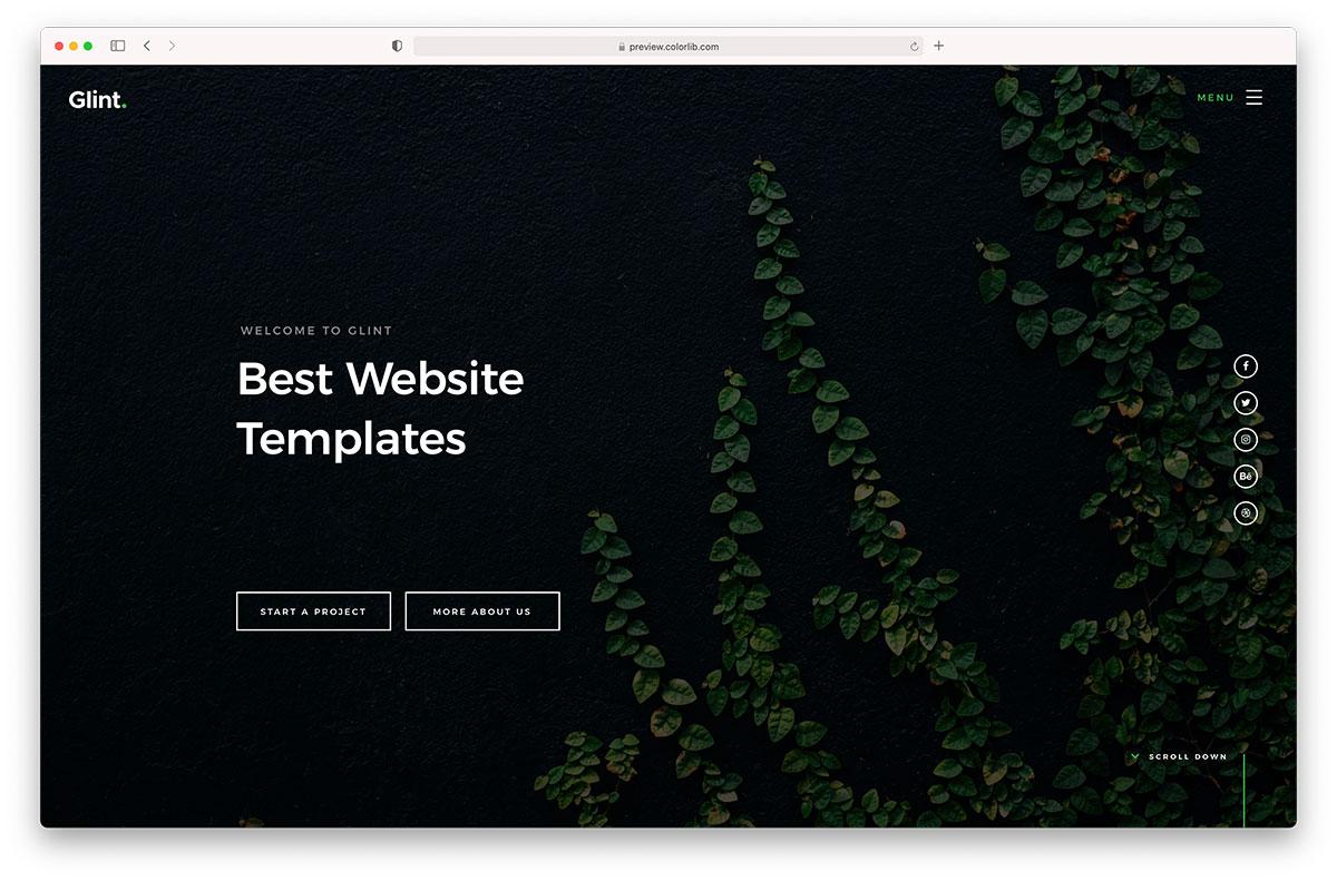 15+ Best Website Templates 15 - Colorlib