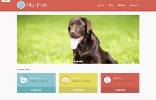 Best Wordpress Animal Themes