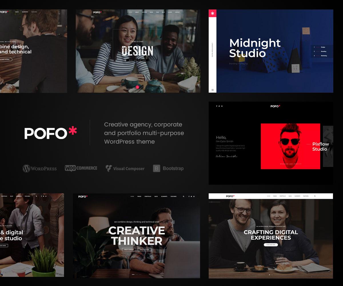 50+ best wordpress corporate business themes of 2018 - colorlib