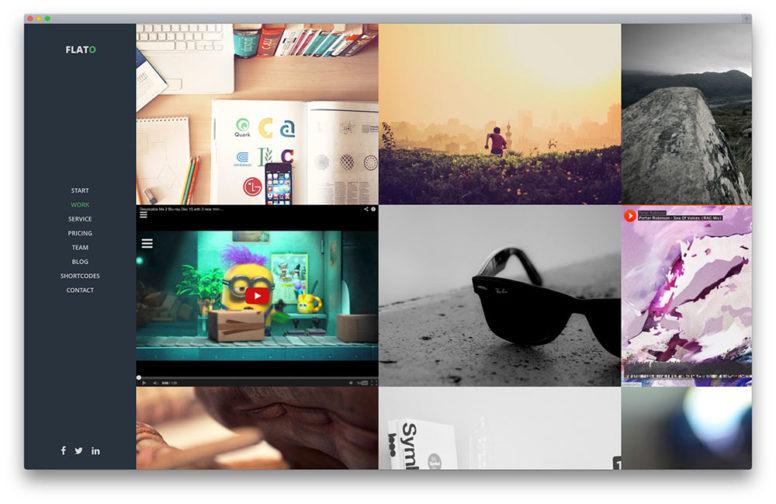 30+ Awesome WordPress Portfolio Themes To Showcase Your Work With Style 2017